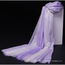 écharpe châle femme super mince coloré