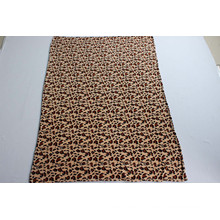 100% Polyester Coral Fleece Blanket with Animal Print