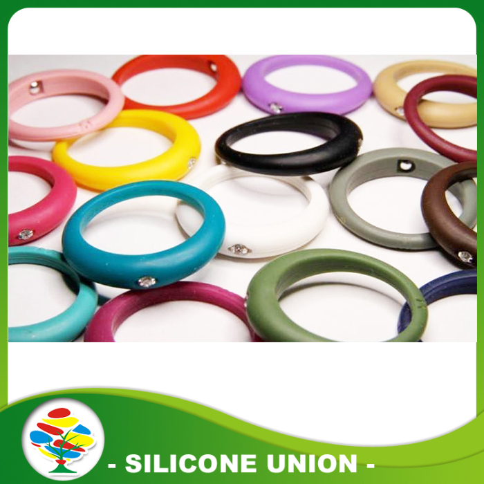 multic shape silicone ring