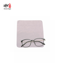 Custom microfiber cleaning cloths for sunglasses colorful glass cleaner
