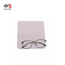 Panos de limpeza de microfibra personalizados para óculos de sol limpador de vidro colorido