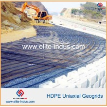 PP HDPE Fibre de verre Fibre de verre Fibre de verre Uniaxial Geogrids