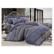 100% Baumwolle süße Blumen-Duvet-Abdeckung gesetztes blumenkoreanisches Artbettwäsche gesetztes Bettdecke stellte Quilts ein
