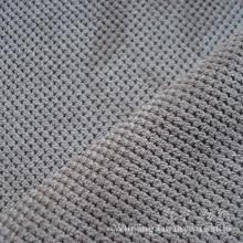 Poliéster pequeno da grade da pilha de Cutted e tela de nylon do veludo de algodão