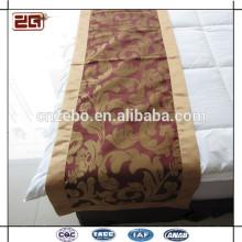Novos bonitos cachecóis decorativos cama e corredores