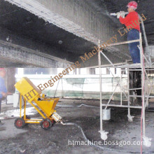 Can Use Single Phase Power 2016 Hot Sale Cement Mortar Spraying Machine