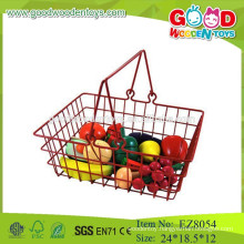 Wooden fruit toys fruit basket toys fruit set toys
