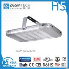 Lumière élevée de baie de 240W 250W LED avec le capteur de lumière du jour de minuterie
