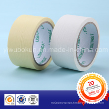 Hot Products White/Yellow Masking Paper Tape with Rubber Base and Easy-Tear
