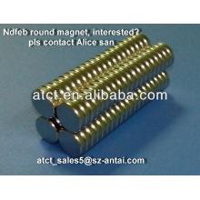 N35 neodymium magnet for bags,cases,purses