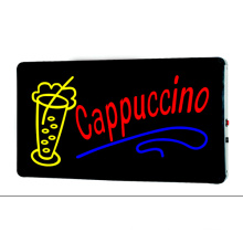LED-Zeichen Cappuccino