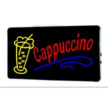 Каппучино со знаком LED