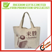 Most Welcomed Logo Printed Top Quality Handmade Cotton Bag