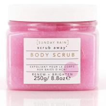 OEM Custom Skin Brightening Exfoliating Berry Body Sugar Scrub