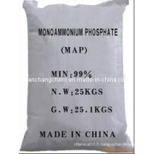 Carte 61-12-0, engrais Mono Ammonium Phosphate