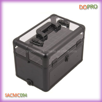 Top Acryl Deckel Mode Stil Maniküre Reise Fall (sacmC094)