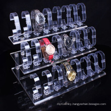 Acrylic Watch Frame Display Rack, Transparent Lucite Watch Frame