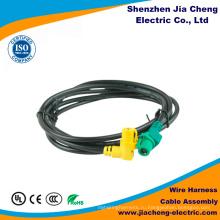 Изготовленный на заказ сборки кабеля и проводки провода военному стандарту 3-Штекерн.
