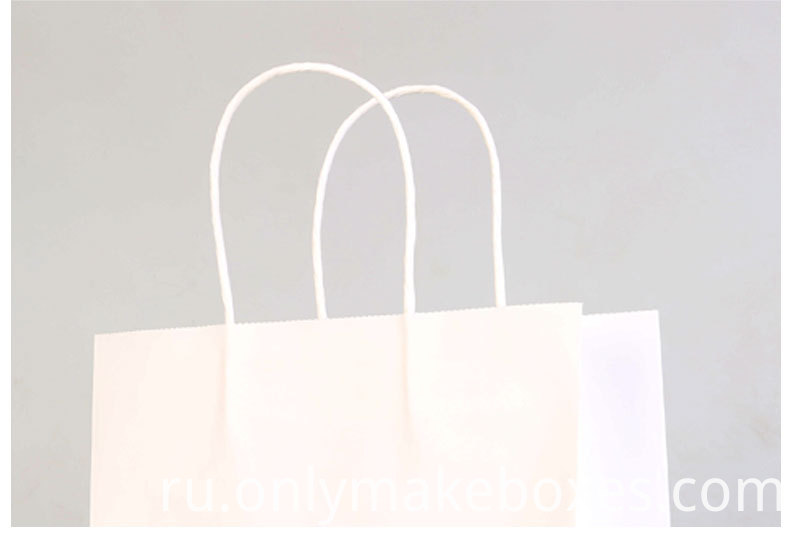 White Kraft Paper Bag1