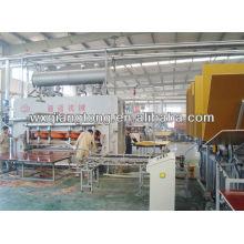 Línea de producción de pisos / parquet de piso de madera que hace la máquina