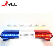 Luces LED Luces estroboscópicas de seguridad para vehículos de emergencia LED Lightbar con sistema de PA