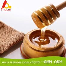 A granel miel de loto cruda orgánica
