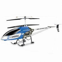 145cm Biggest 3.5-channel Gyroscope Metal RC Helicopter with 80m Flight Altitude