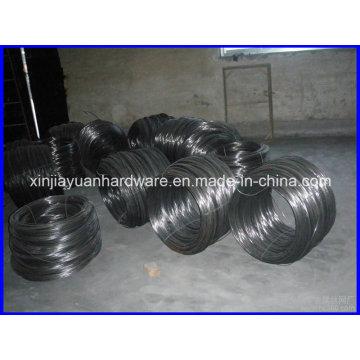 Fil de reliure de fer recuit noir de 25kgs / Coil