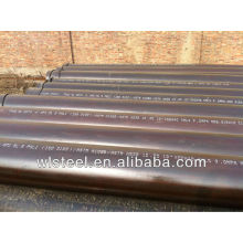 q235 seamless carbon steel pipe price for low minimum order quantity