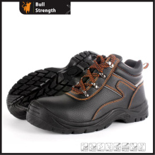 Ankle Leather Safety Shoe with PU/PU Outsole (SN5452)