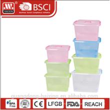 пластиковые хранения контейнер w/wheels24L / 31L / 39L / 49L/69 Л/89 Л/124 Л