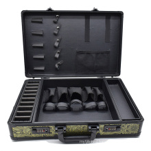 Professional Make-up Organizer Make-up, Beauty and Hairdressing Tools Storage Box Travel Large Capacity Storage Bag Suitcase