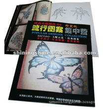 2016 hot sale pop tattoo flash book