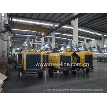 Portable Light Tower Professional Manufacturer (7-18kw)