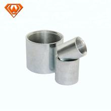 soquete de aço inoxidável de acoplamento de liberação rápida hidráulico feminino
