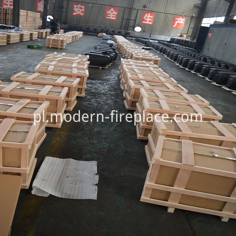 Custom Wood Burning Fireplace