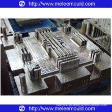 Moldes de placa de paleta plana de inyección