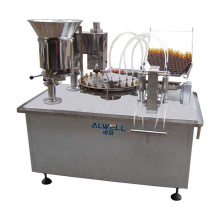 Automatic small medicine bottle filling and capping machine