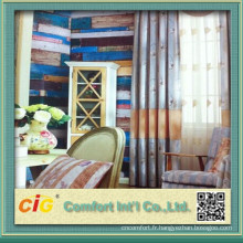 Tapisserie d'ameublement de qualité et de tissus pour rideaux