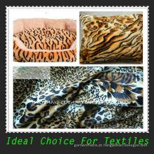 Tecido de pelúcia ultra flexível curto