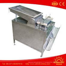 Vente chaude 100 kg Low Price automatique petit éplucheur à oeufs de caille