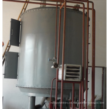 Secador de placas continuo para acelerador de caucho en la industria química