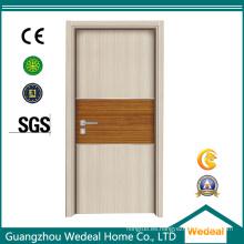 Personalice la puerta moldeada MDF de la melamina de madera interior