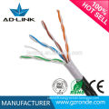Lan cable for external wiring outdoor waterproof CCA copper lan cable BC OFC cable cat5e solid