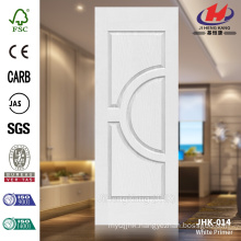 JHK-014 Hot Sell Design Good Quality Competitive Price HDF MDF White Primer Door Skin
