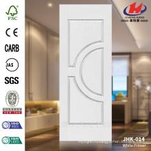 JHK-014 Горячее надувательство Конструкция Хорошее качество Конкурентоспособная цена HDF MDF Белая дверь двери праймера