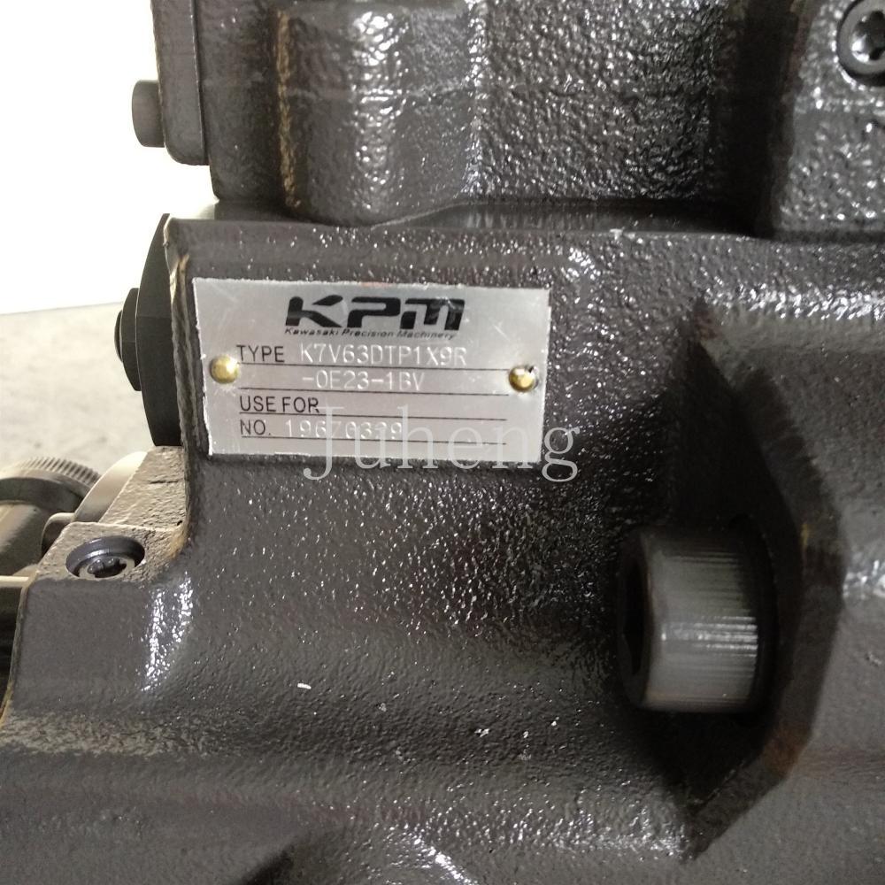 Sk135sr Hydraulic Pump 7