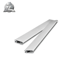 Special Design 6061 alloy aluminum double rail keder extrusion