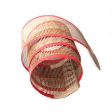 Heat resistant PTFE mesh belt for microwave dryer