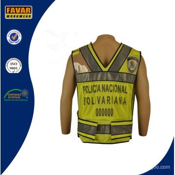 Traffic Police Wearing Reflective Vest
